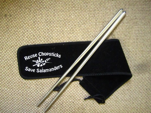Reusable chopsticks