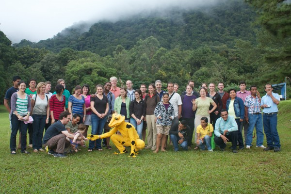 Meeting Participants from the golden frog PHVA workshop