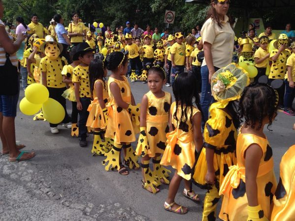 Golden Frog Day parade (Photo by Brian Gratwicke)