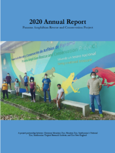 2020 Annual Report - PanamaAmphibian Rescue and Conservation Project